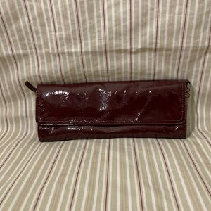Charles David Patent Leather Clutch